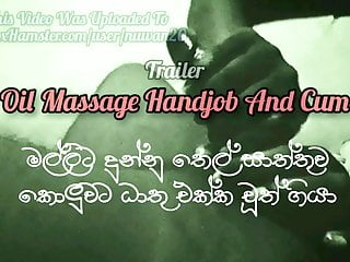 Handjob - To Whatever Manner Is My Treatments - Bribe Knead - Sri Lankan
