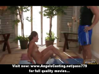Innocent Redhead Alterable Stripling Playing In The Matter Of Their Way Pussy And